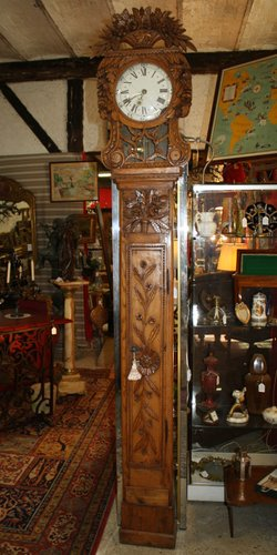 Antique Grandfather Clock For Sale At Pamono