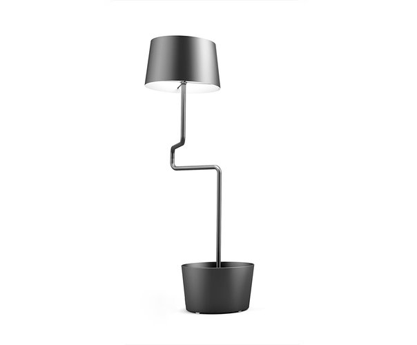 Lámpara BB negra de Andrea Epifani para Officine Tamborrino