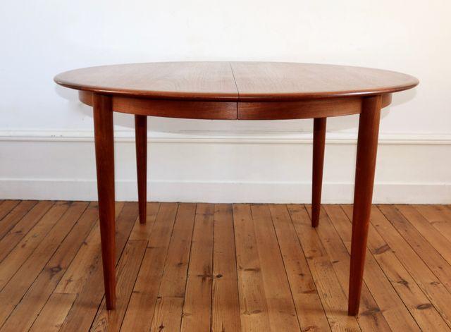 Skandinavischer Tisch Aus Teak Von Kai Kristiansen Für Skovmand U0026 Andersen,  1960er Bei Pamono Kaufen