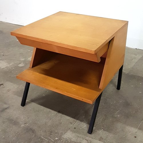 Attrayant Mid Century Side Table With Drawer From Trefac For Sale At Pamono