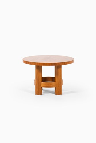 Small Round Side Table From Reiners, Small Round End Table