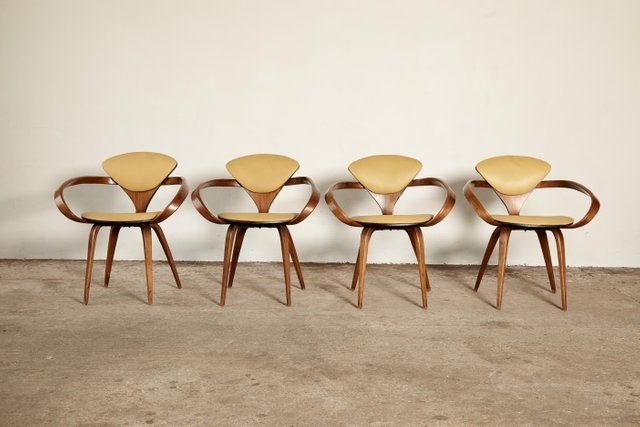 Pretzel Dining Chairs By Norman Cherner