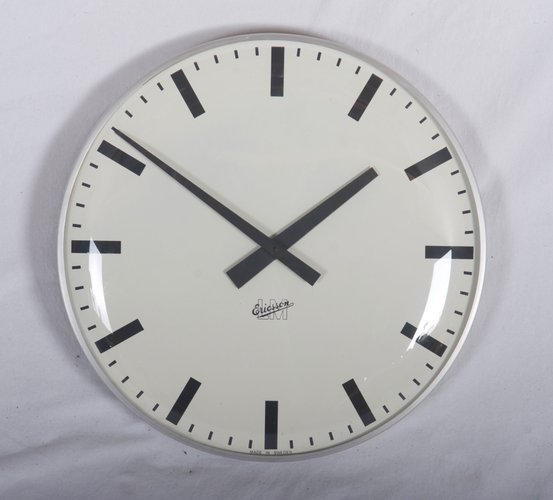 Large Mid Century Wall Clock By Lm Ericsson For Sale At Pamono