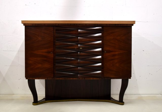 Rosewood Dry Bar Cabinet By Osvaldo, Dry Bar Furniture