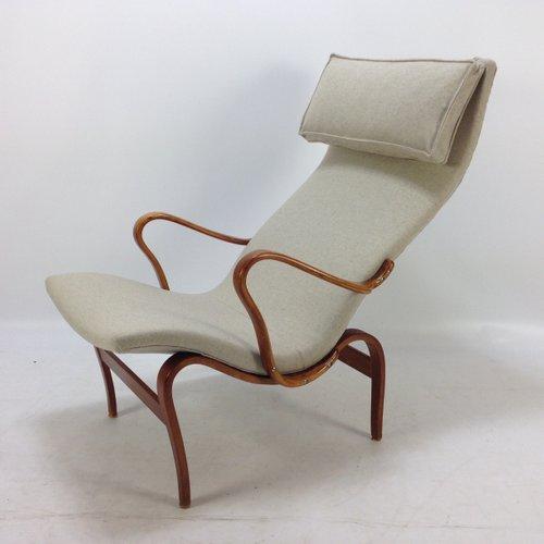 Model Pernilla Easy Chair by Bruno Mathsson, 1950s