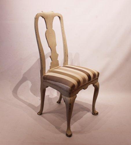 sedia da ufficio blu camera da letto cucina N//A Set di 4 sedie da pranzo imbottite in stile patchwork per sala da pranzo stile retr/ò