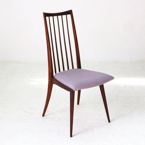 Scandinavian Modern Dining Chairs, 1950s, Set Of 4