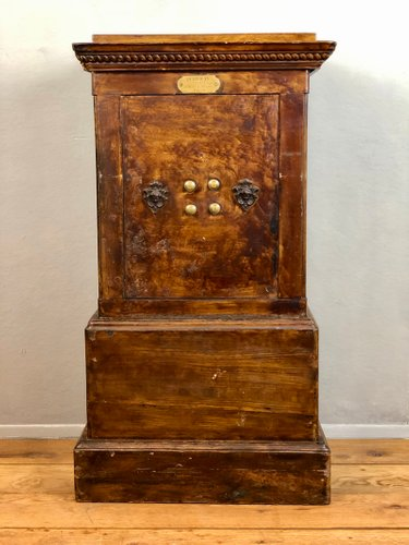 19th Century French Iron And Wood Safe From Pe Jean For At Pamono