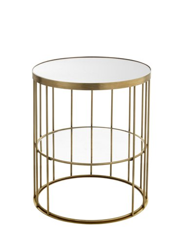 Round Tall Cage Coffee Table By Niccolo