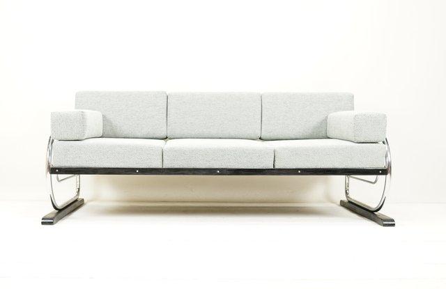 Bauhaus Sofa From Hynek Gottwald 1930s