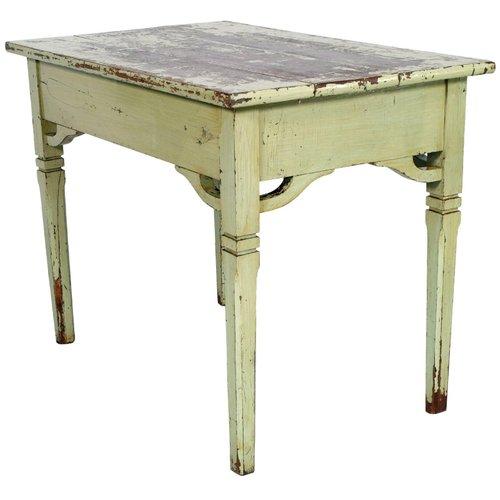 19th Century Italian Painted Pine Desk