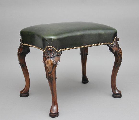 Antique Mahogany Stool Antique Furniture Antiques