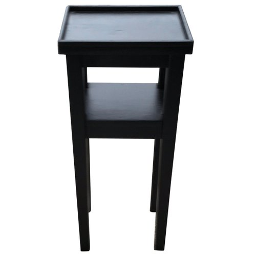 Small Art Deco Black Side Table 1930s