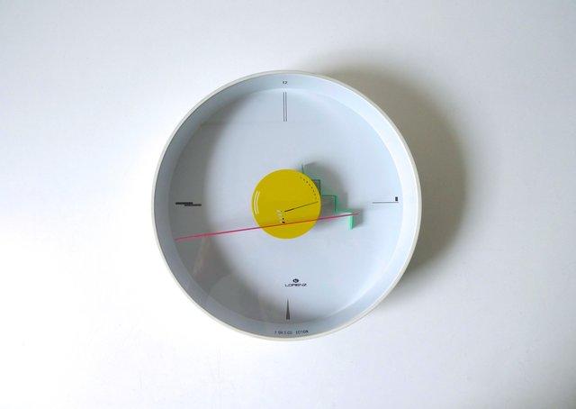 Orologio Da Parete Artec Postmoderno Di Nicolai Canetti