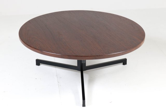 Mid Century Dutch Wenge Coffee Table By Martin Visser For T Spectrum