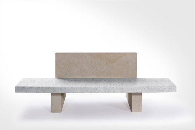 Red Oak Kitchen Table, Span Outdoor Bench With Back Support By John Pawson For Salvatori For Sale At Pamono