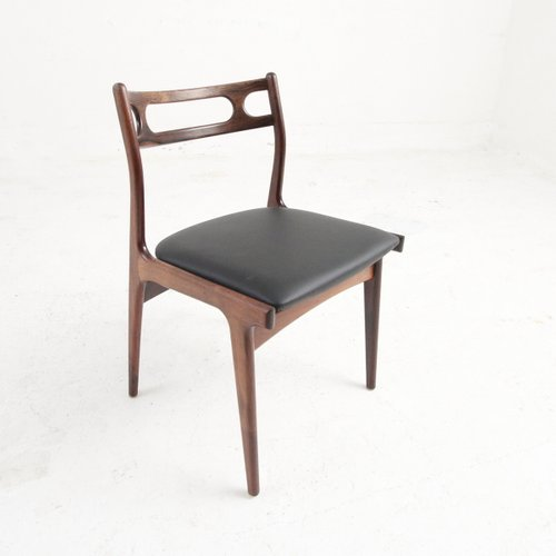 Astonishing Rosewood Cow Leather Chairs By Johannes Andersen For Uldum 1969 Set Of 4 Alphanode Cool Chair Designs And Ideas Alphanodeonline