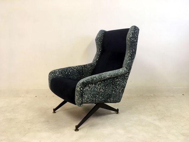 Italian Lounge Chair by Nello Pini, 1960s