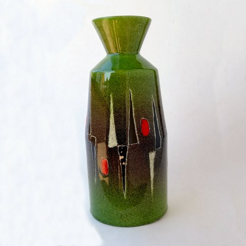 Mid Century Italian Ceramic Vase By Otello Rosa For San Polo For Sale At Pamono