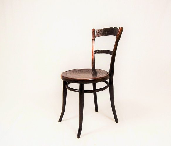 Antique Wooden No 260 Dining Chair From Jacob Josef Kohn For Sale At Pamono