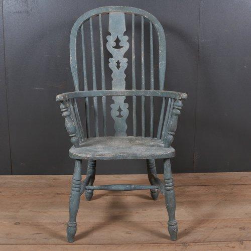Bois Antique Chaise Windsor En Peint1850s iXZuPOkwTl