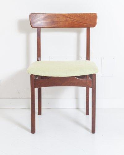 Mid Century Teak Dining Chairs, 1950s, Set of 6