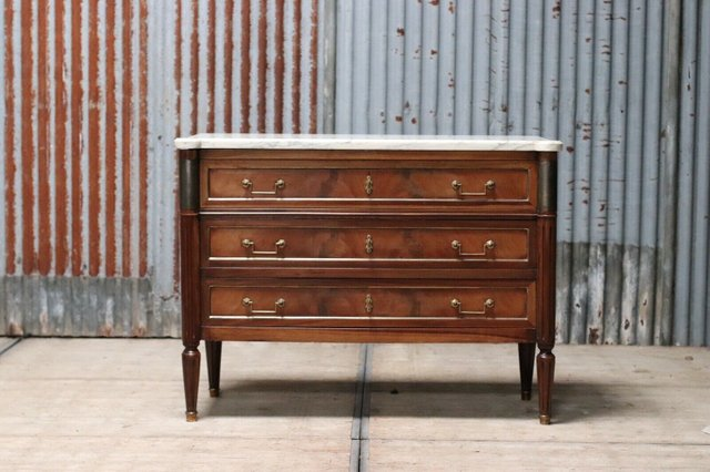 Chest Of Drawers.Vintage French Mahogany Chest Of Drawers 1920s