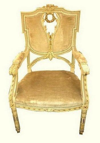 Antique Louis Xvi Style Side Chair