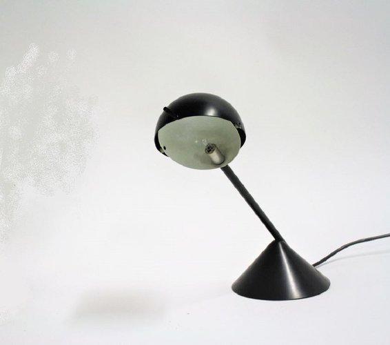 Vintage Industrial Metal Table Lamp, 1970s