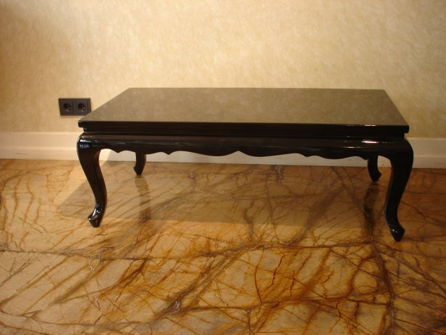 Cool Art Deco French Wooden Coffee Table 1940S Bralicious Painted Fabric Chair Ideas Braliciousco