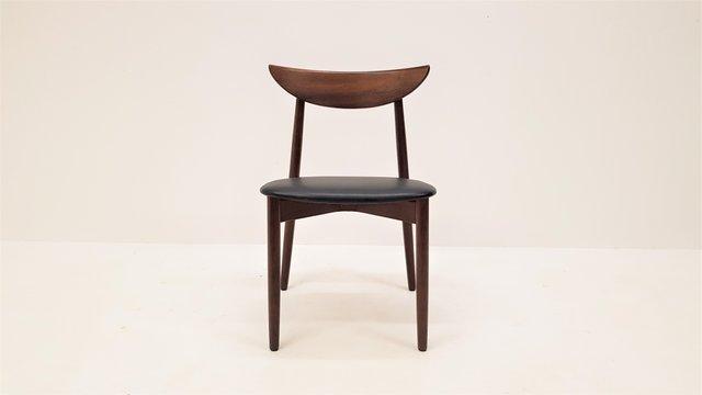 Rosewood Model 58 Dining Chairs by Harry Østergaard for Randers Møbelfabrik, 1960s, Set of 8