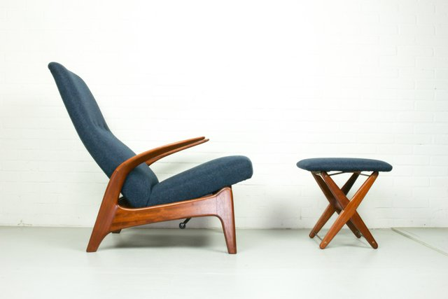 Groovy Rockn Rest Lounge Chair And Foot Stool By Gimson Slater 1960S Download Free Architecture Designs Philgrimeyleaguecom