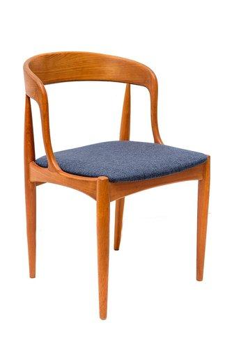 Superbe Danish Teak Dining Chairs By Johannes Andersen For Uldum Møbelfabrik,  1960s, Set Of 2