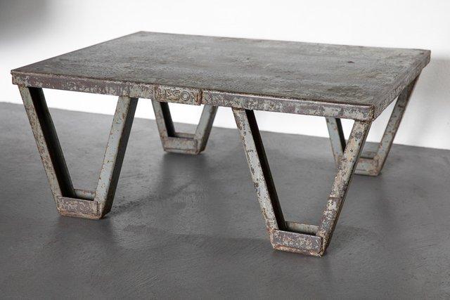 Metal Coffee Table 1950s