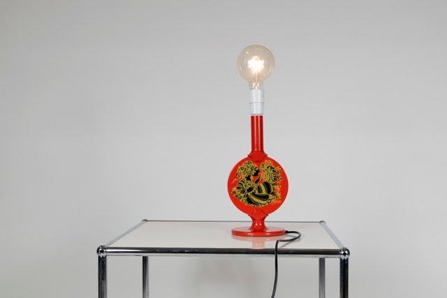 Mid Century Table Lamp by Bjørn Wiinblad for Lyfa