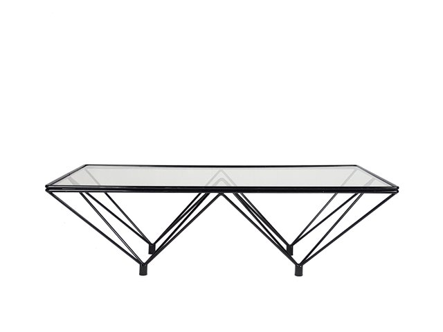 Awesome Vintage Black Metal And Tinted Glass Coffee Table Lamtechconsult Wood Chair Design Ideas Lamtechconsultcom