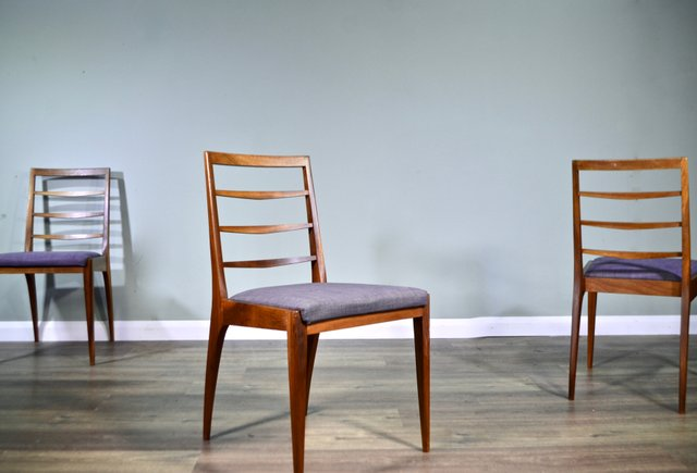 Excellent Teak Dining Chairs From Mcintosh 1960S Set Of 4 Ncnpc Chair Design For Home Ncnpcorg