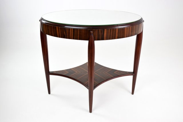 Admirable Vintage Art Deco French Console Table 1930S Dailytribune Chair Design For Home Dailytribuneorg