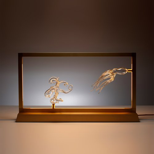 Octopus Table Lamp from E sumi Collection by Simone Crestani