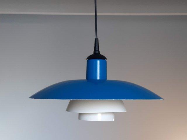 Mid Century PH43 Ceiling Lamp by Poul Henningsen for Louis Poulsen