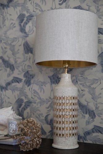 Lampade Da Tavolo Grandi In Ceramica Di Bitossi Per Bergboms Anni 60 Set Di 2 In Vendita Su Pamono