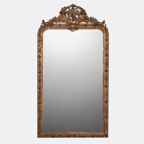 Large Antique Mirror For At Pamono, Vintage Large Wall Mirrors