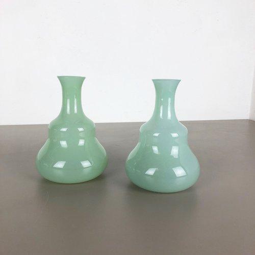 CENEDESE MURANO ART GLASS VASE | Mid century modern design