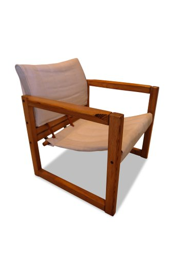 Pine Safari Armchair by Karin Mobring for Ikea, 1972