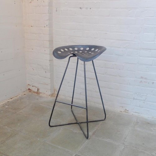 Industrial Tractor Seat Barstool