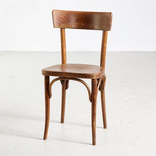 Beech Side Chair from Gebrüder Thonet Vienna GmbH, 1950s