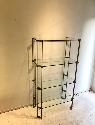 Vintage Glass Cabinet By Peter Ghyczy For Sale At Pamono