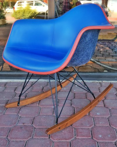 Mid Century Model RAR Rocking Chair by Charles & Ray Eames for Herman Miller