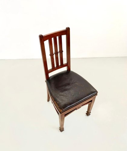 Antique Wooden Dining Chairs By Eugenio, Wooden Dining Room Chairs