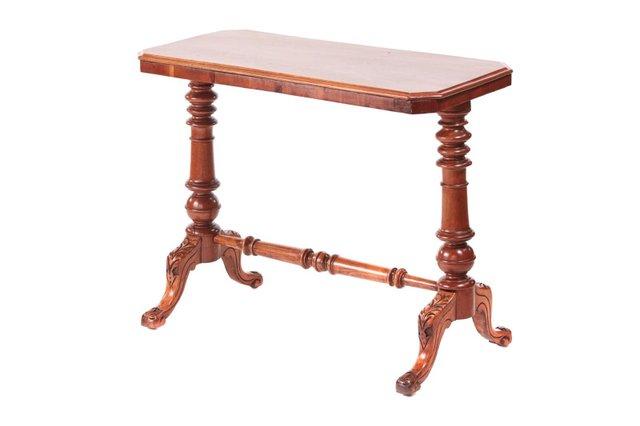19th Century Victorian Antique Mahogany, Antique Lamp Tables